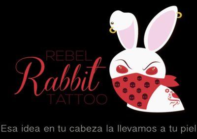 Rebel Rabbitt Tattoo